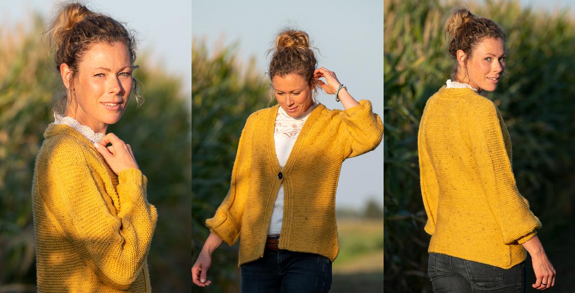 Tweed Jacke Romy
