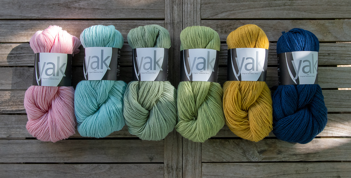 Die neuen Farben der YAK