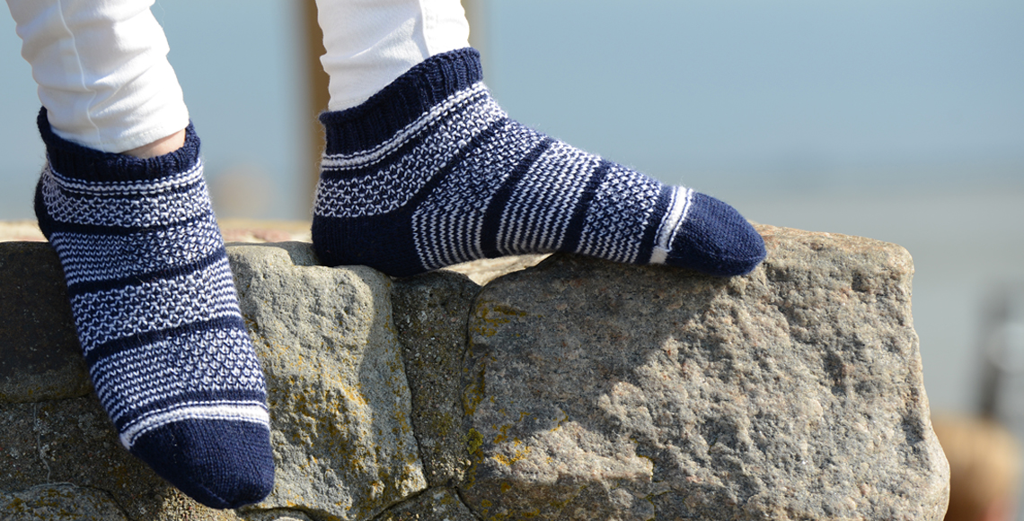 Seewind-Sommer-Socken